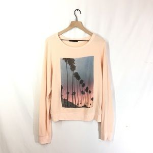 Wildfox Palm Trees Sweater